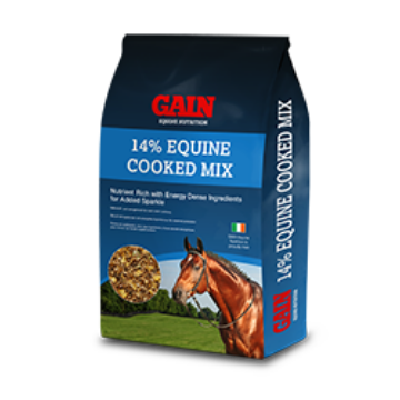 GAIN 14% Equine Cooked Mix