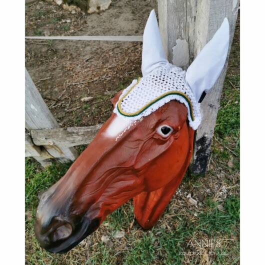 Baileys Horse Feeds fehér fülvédő